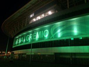 Arena Iluminada de Verde